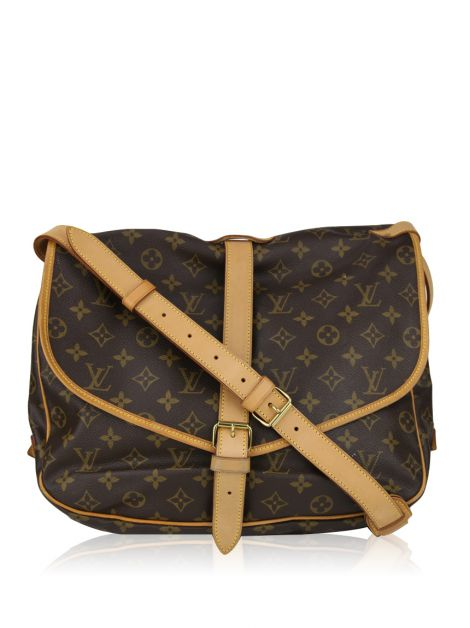 Bolsa Louis Vuitton Saumur Monograma Crossbody