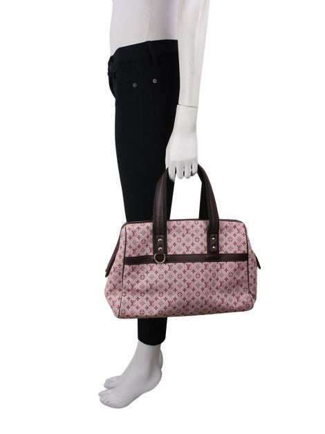 Bolsa Louis Vuitton Mini Lin Josephine Cherry