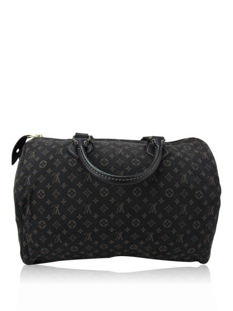 Bolsa Louis Vuitton Mini Lin Speedy 30 Marrom
