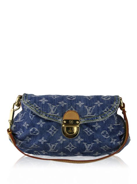 Bolsa Louis Vuitton Mini Pleaty Denim
