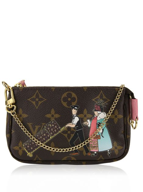 Bolsa Louis Vuitton Mini Pochete Estampada