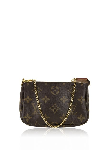 Bolsa Louis Vuitton Mini Pochette Monograma