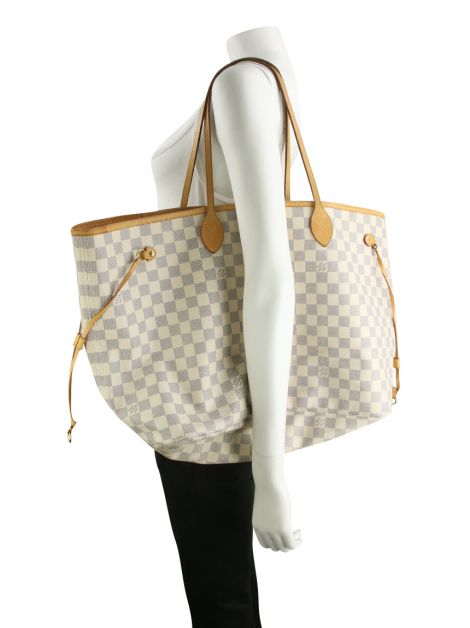 Bolsa Louis Vuitton Neverfull GM Damier Azur