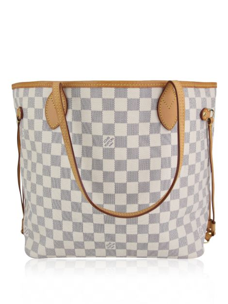 Bolsa Louis Vuitton Neverfull MM Damier Azur