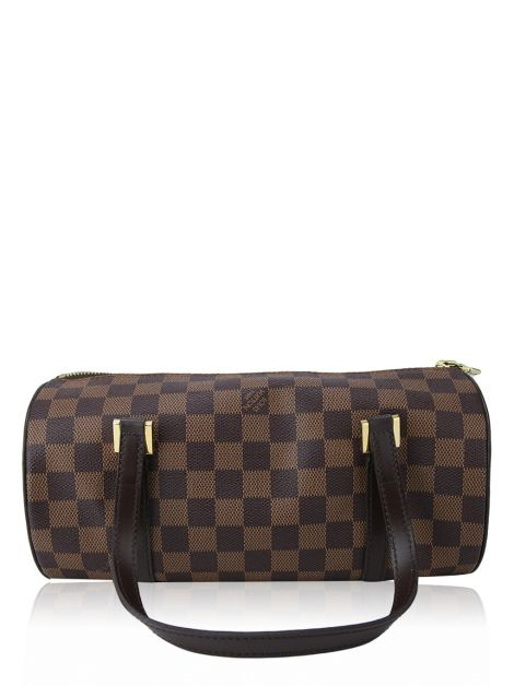 Bolsa Louis Vuitton Papillon Canvas Damier Ébène