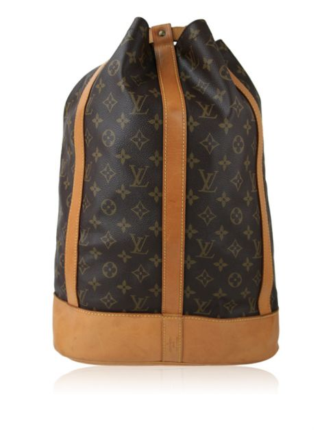 Mochila Louis Vuitton Randonnee Canvas Monograma
