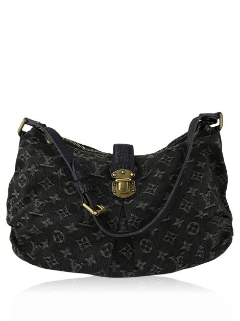 Bolsa Louis Vuitton Slightly Denim Preta