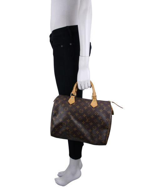 Bolsa Louis Vuitton Speedy 30 Canvas Monograma
