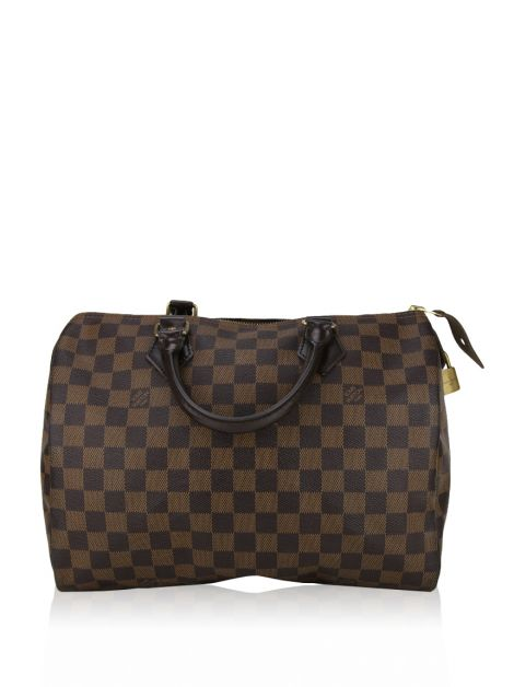 Bolsa Louis Vuitton Speedy 30 Damier Èbene