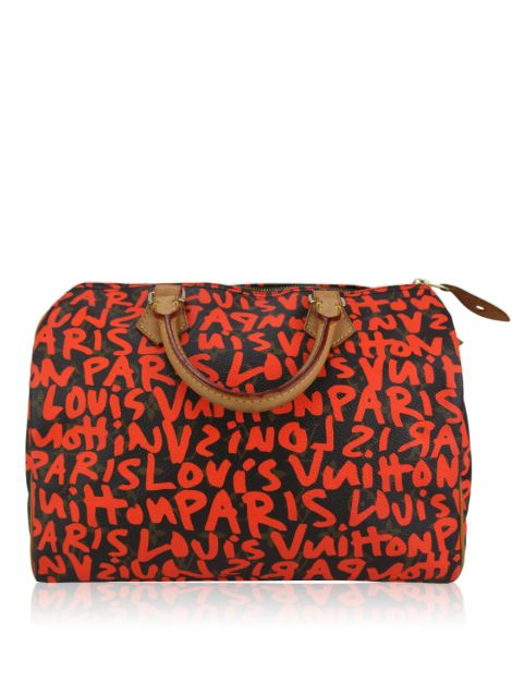 Bolsa Louis Vuitton Speedy 30 Graffiti Stephen Sprouse