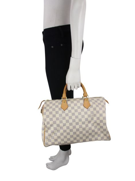 Bolsa Louis Vuitton Speedy Damier Azur 35