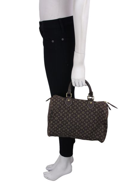 Bolsa Louis Vuitton Speedy Mini Lin Fusain