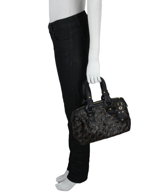 Bolsa Louis Vuitton Speedy Monogram Eclipse Sequin