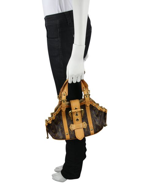 Bolsa Louis Vuitton Theda GM Monograma