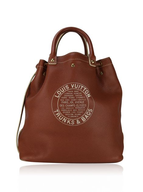 Bolsa Louis Vuitton Tobago Shoe Tote Marrom