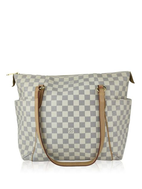 Bolsa Louis Vuitton Totally MM Canvas Damier Azur