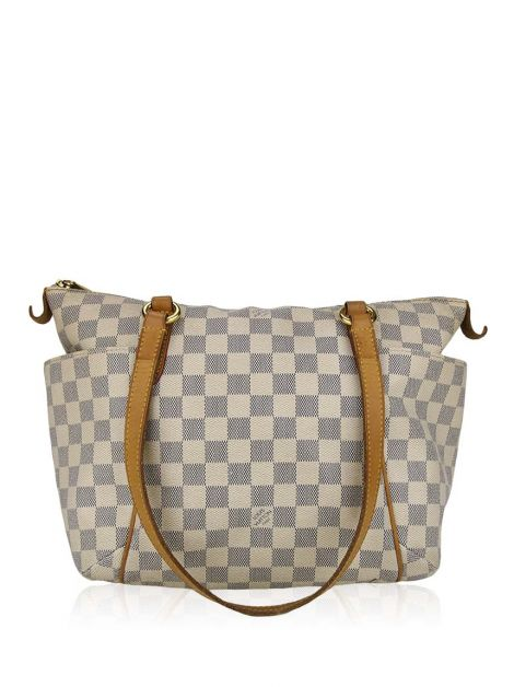 Bolsa Louis Vuitton Totally MM PM Canvas Damier Azur