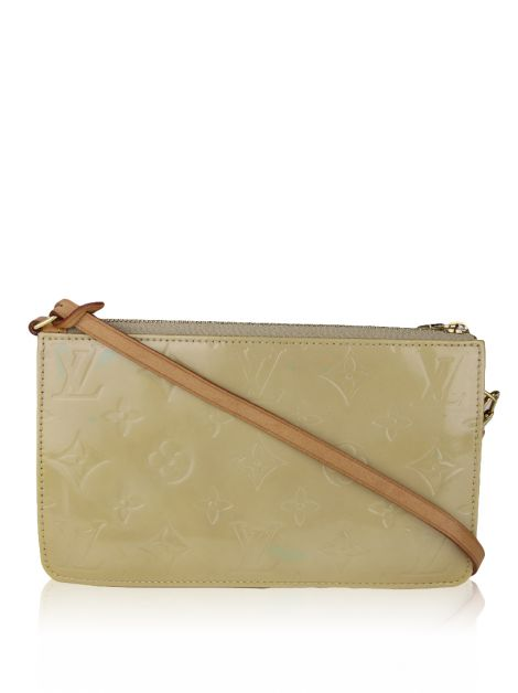 Bolsa Louis Vuitton Vernis Lexington Pochette Citrine