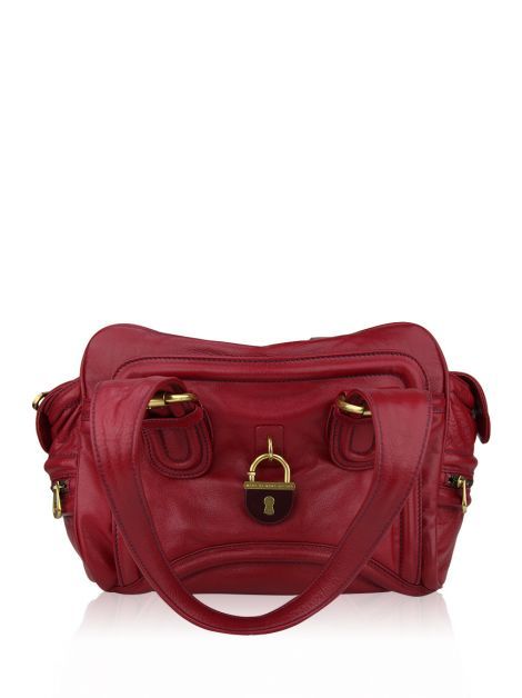 Bolsa Marc by Marc Jacobs Cereja