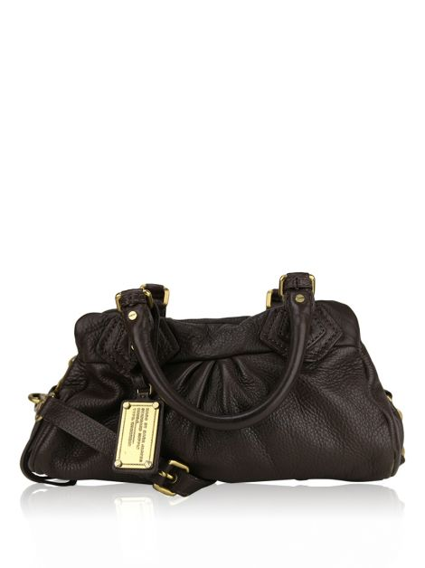 Bolsa Marc by Marc Jacobs Classic Groove Marrom