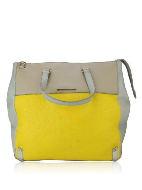 Bolsa Marc By Marc Jacobs Couro Amarela