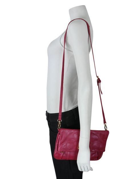 Bolsa Marc By Marc Jacobs Couro Rosa