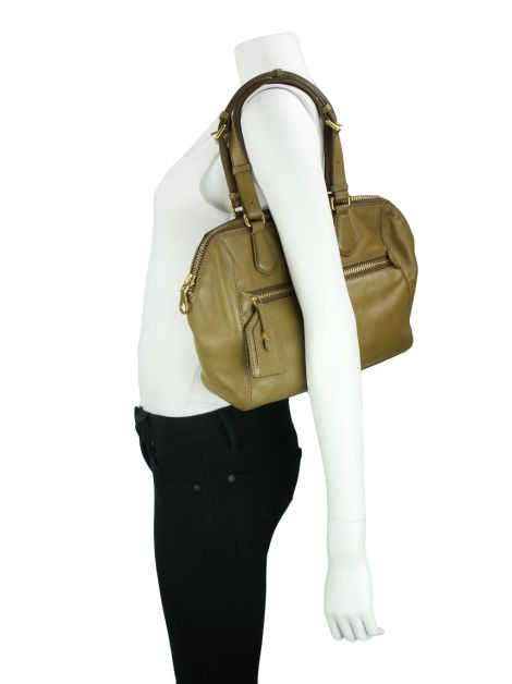 Bolsa Marc by Marc Jacobs Globetrotter Calamity Rei Verde