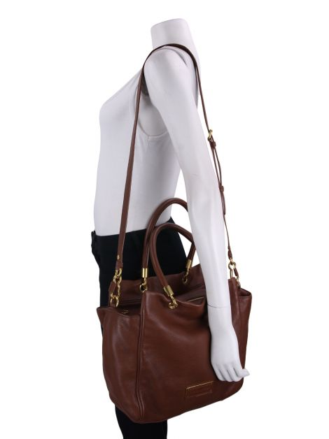 Bolsa Marc By Marc Jacobs Too Hot To Handle Caramelo