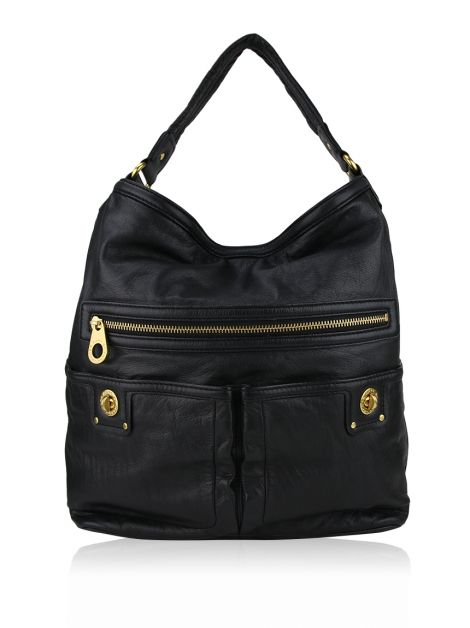 Bolsa Marc by Marc Jacobs Totally Turnlock Preta
