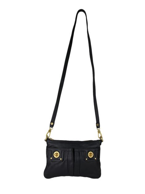 Bolsa Marc By Marc Jacobs Turnlock Percy Preta