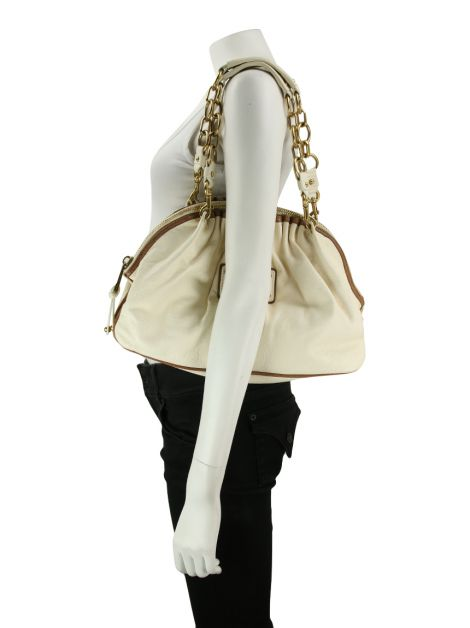 Bolsa Marc Jacobs Bowler Off-White