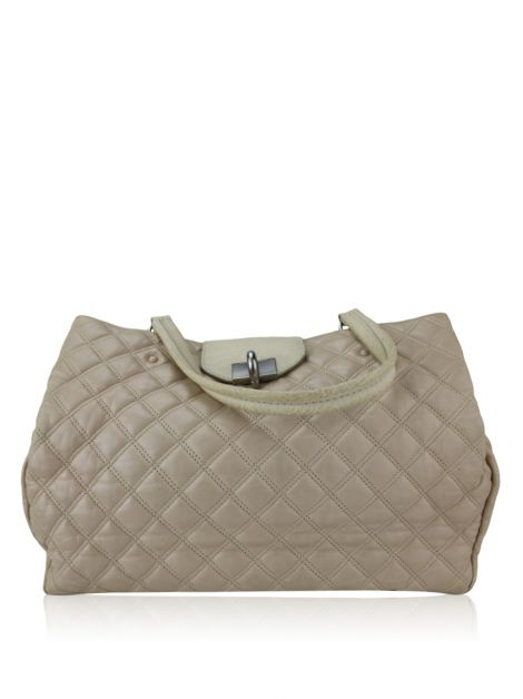 Bolsa Marc Jacobs Couro Bege