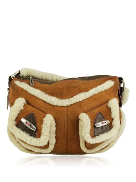 Bolsa Marc Jacobs Shearling Shoulder Bag