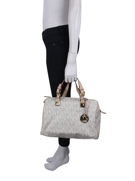 Bolsa Michael Kors Grayson Canvas