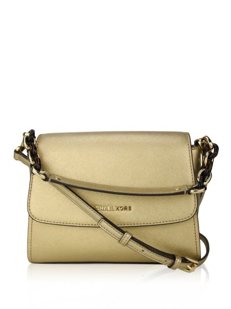 Bolsa Michael Kors Sofia Small East West Dourada