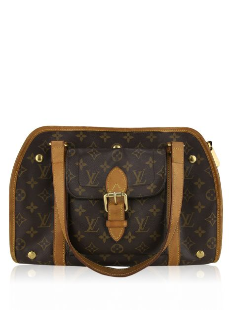 Bolsa para Cachorro Louis Vuitton Baxter MM Monograma