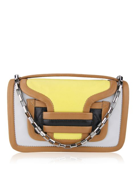 Bolsa Pierre Hardy Clutch Alpha Colorida