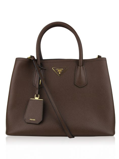 Bolsa Prada Double Medium Cacao