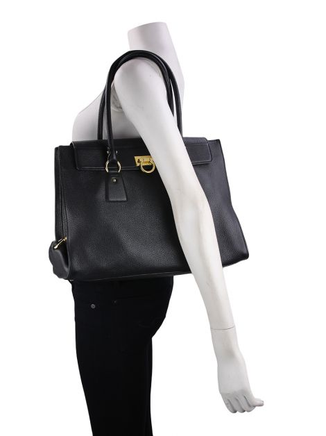 Bolsa Salvatore Ferragamo Lotty Preto