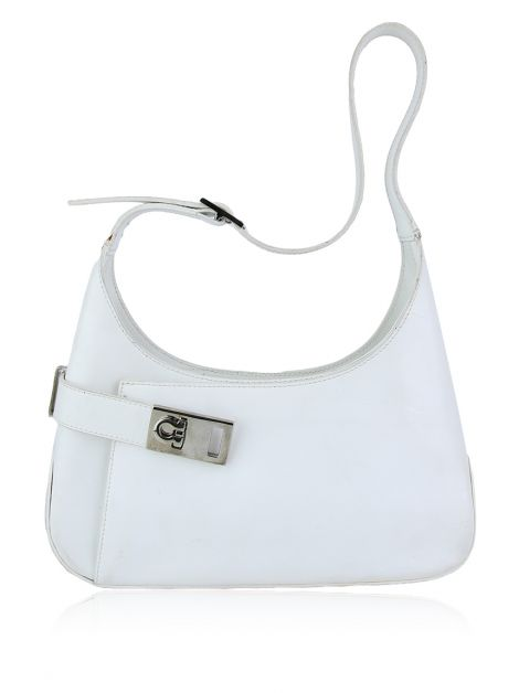 Bolsa Salvatore Ferragamo White Leather