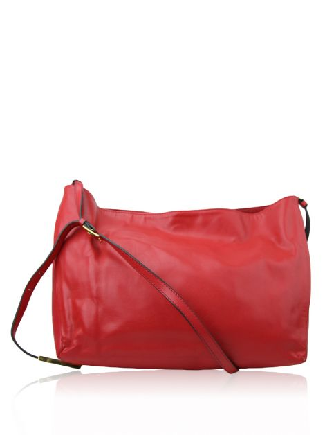 Bolsa Stella Mccartney Eco Faux Vermelha