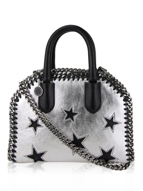 Bolsa Stella McCartney Falabela Box Tiny Tote Metallic