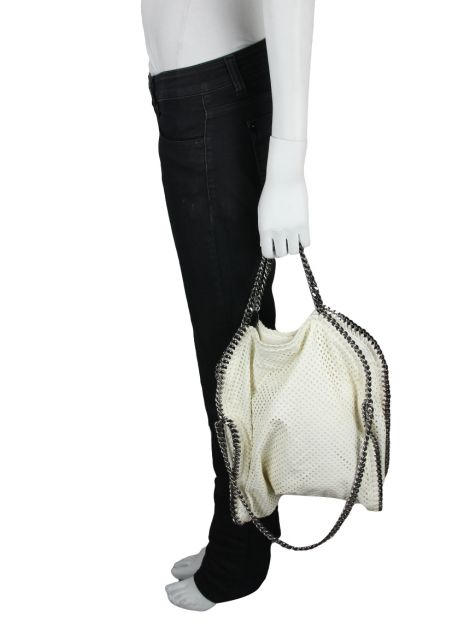 Bolsa Stella McCartney Recortes Off White