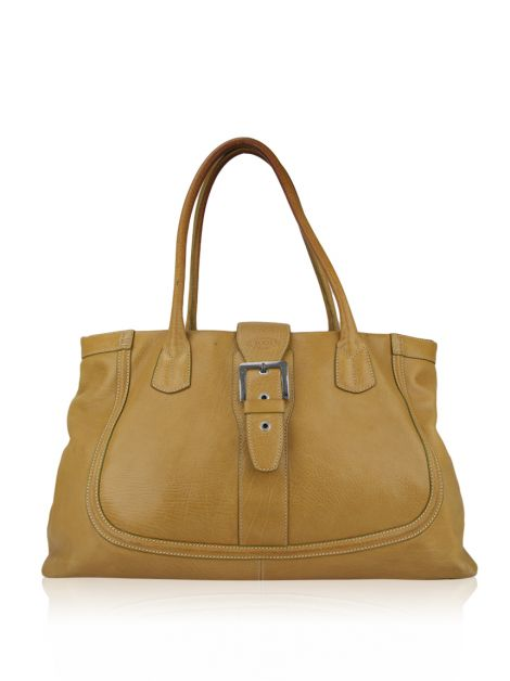Bolsa Tod's Couro Bege