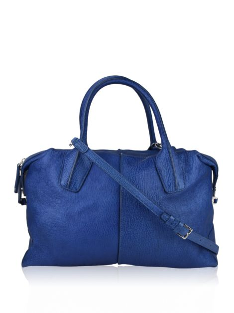 Bolsa Tod's D-Styling Medium Bauletto Azul