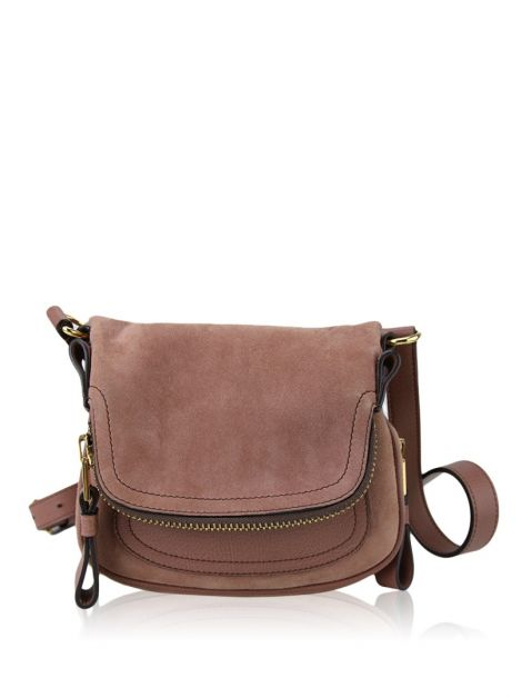 Bolsa Tom Ford Jennifer Camurça Malva