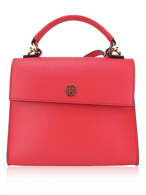 Bolsa Tory Burch Parker Small Satchel Rosa