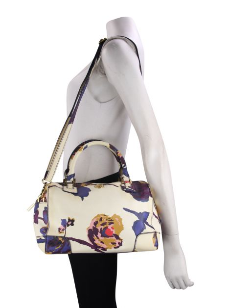Bolsa Tory Burch Robinson Boston Estampada