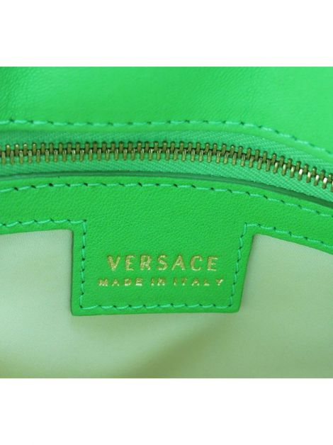 Bolsa Versace Couro Tachas