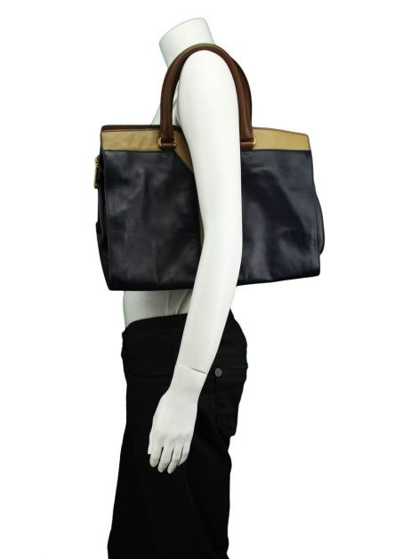 Bolsa Yves Saint Laurent Cabas Chic